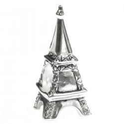 925 Sterling Silver France Landmark PARIS EIFFEL TOWER  Bead Charm Pandora Troll Biagi Chamilia
