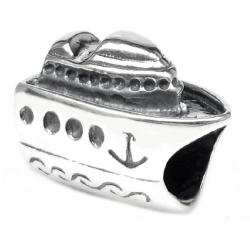 Antique 925 Sterling Silver Cruise Ship Travel Vacation Holiday Series for Pandora Troll Chamilia Biagi European Bead Charm