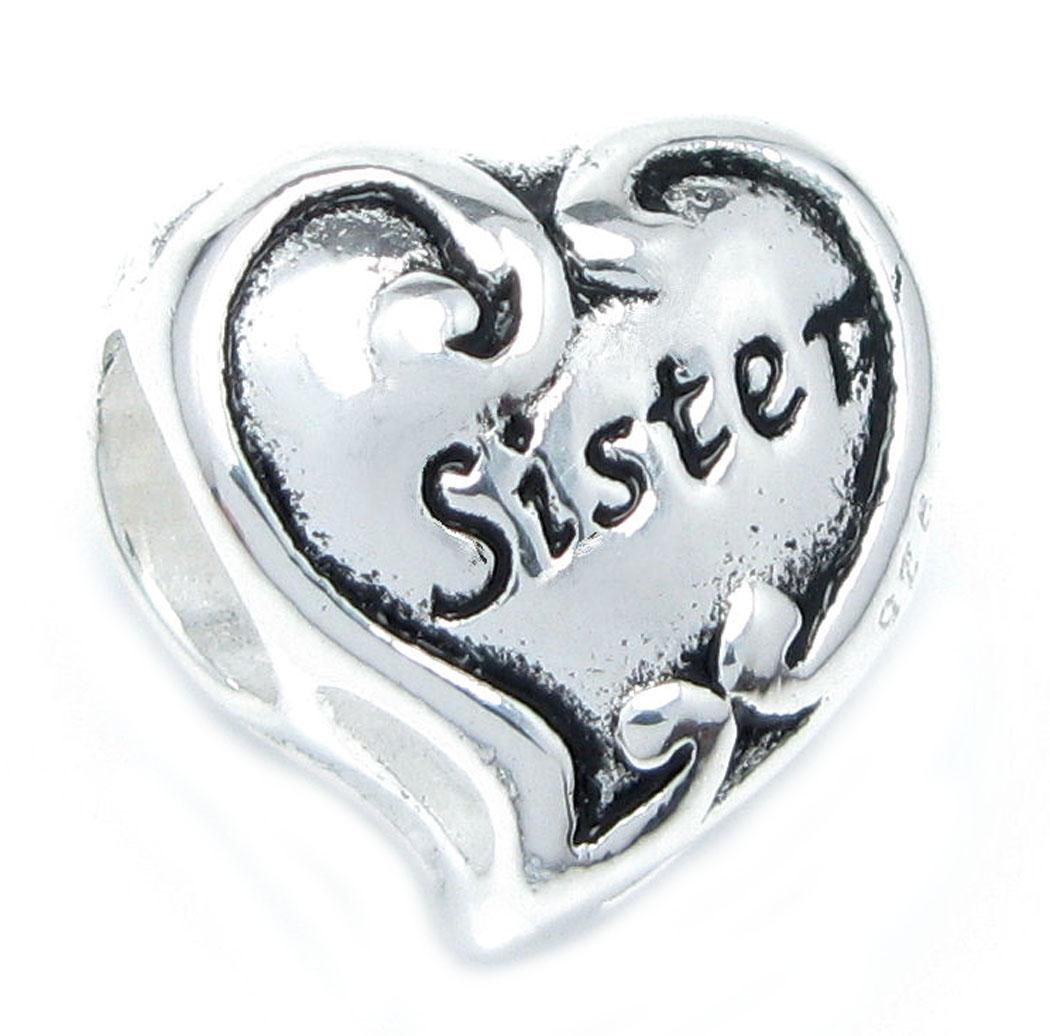 pandora charm bracelet sister
