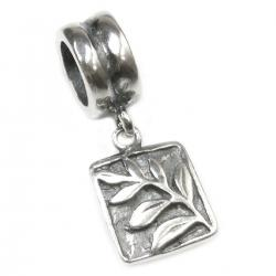 Sterling Silver Tree of Life Dangle Bead for European Charm Bracelets