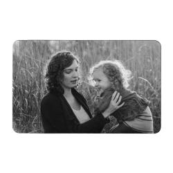 Personalized Photo / Text Custom Engraved Metal Wallet Mini Love Insert Card